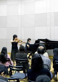 平成30年度前期 倉敷音楽アカデミー(ヴァイオリン部門)